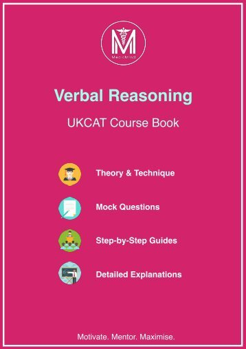 Verbal Reasoning 2018