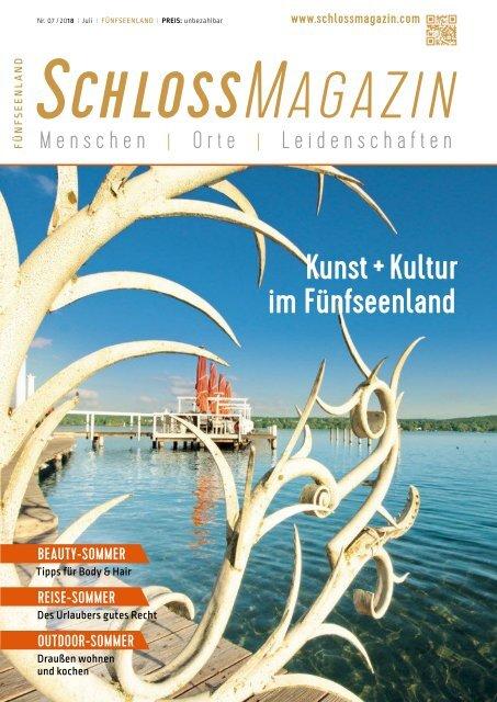 SchlossMagazin Fünfseenland Juli 2018