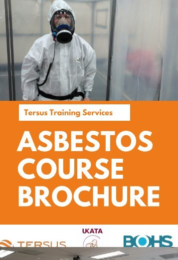 Tersus Training Asbestos Brochure