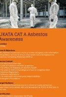 Tersus Training Asbestos Brochure - Page 3
