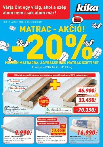 Matrac - Akci