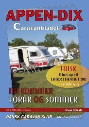 NU KOMMER FORÅR OG SOMMER - Dansk Caravan Klub