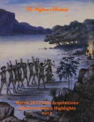 March 2012 New Acquisitions & Selected Stock Highlights Part 2