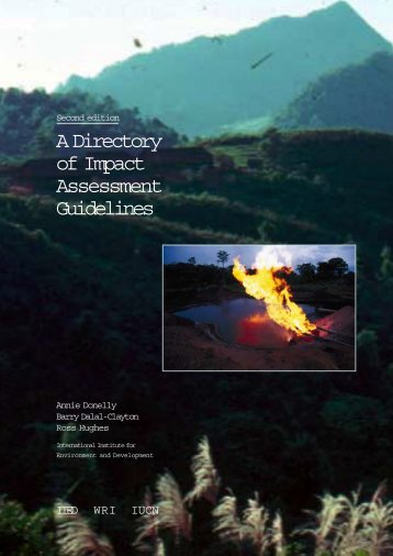 A Directory of Impact Assessment Guidelines - Iied - International ...
