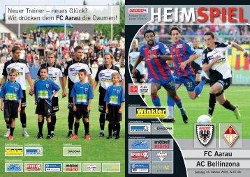 FC Aarau AC Bellinzona