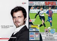 Saison 2009/2010 - Ausgabe 18: FC Aarau - Grasshoppers