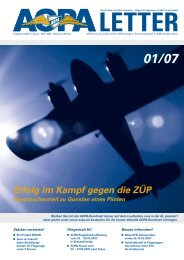 Fliegerisch fit! - AOPA - Germany