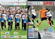 Ausgabe 1: FC Aarau - Grasshoppers