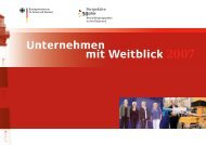 Unternehmen mit Weitblick 2007 - Perspektive 50plus
