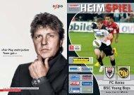 HEIMSPIEL FC Aarau BSC Young Boys