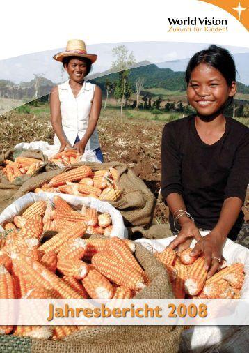 Jahresbericht 2008 - World Vision
