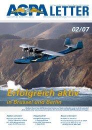 Besser informiert! - AOPA - Germany