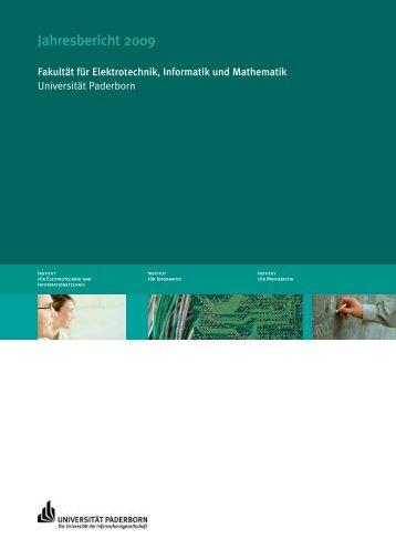Jahresbericht 2009 der Fakultät EIM - Universität Paderborn: ONT