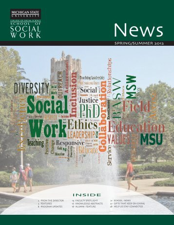 Spring/Summer 2012 NEWS - School of Social Work - Michigan ...