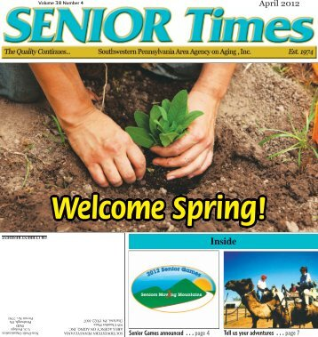 Senior Community Center Notes - Southwestern Pennsylvania Area ...
