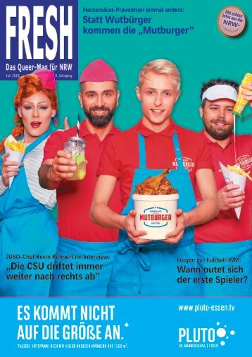 FRESH Magazin Juli 2018