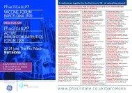 VACCINE FORUM BARCELONA 2009 ACTIVE ... - Phacilitate