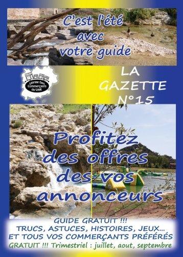 GAZETTE 15