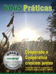 Revista Boas Práticas - Rally Cocamar 2018