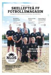 Skellefteå FF Fotbollsmagasin – 2018 #2