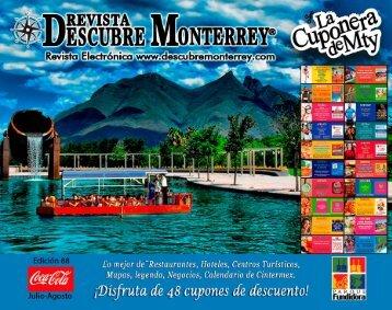 Descubre Monterrey 88 Julio Agosto 2018