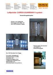 Luftpolster CARGO-GUARDIAN ® system