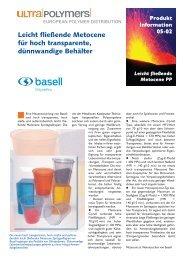 Produkt Information 05-02 Leicht fließende ... - bei UltraPolymers