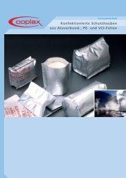 Konfektionierte Schutzhauben - Coplax Verpackungen AG