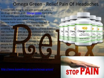 Omega Green - Increase Your Brain Power