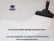 Do You Need A Water Damage Carpet Restoration