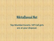 Top Mumbai Escorts Available 24/7