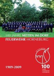 Festzeitschrift 2009 - Feuerwehr Horneburg