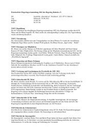 Protokoll der Hegeringversammlung 2012 des Hegering Datteln e.V. ...
