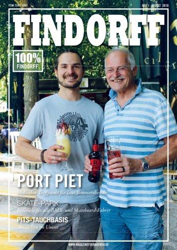 FINDORFF Magazin | Juli-August 2018