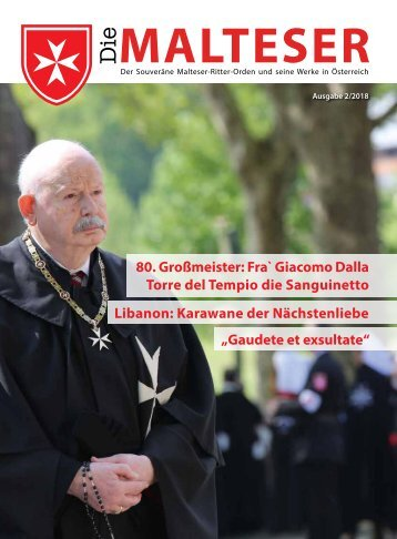 Die Malteser-Zeitung 2/2018