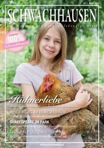 SCHWACHHAUSEN Magazin | Juli-August 2018