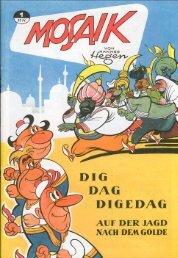 Mosaik - Digedags - 001 (1955-12) - Auf der Jagd nach dem Golde