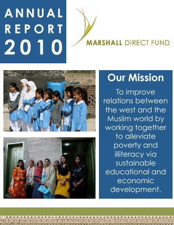 MDF Annual Report 5-18-11.pptx - Marshall Direct Fund