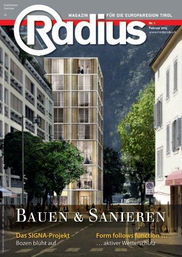 Radius Bauen 2014