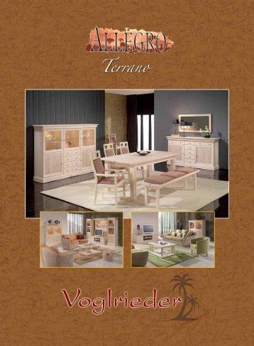 Terrano Möbelprogramm
