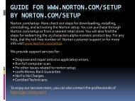 Norton.com/Setup - Norton Security Support