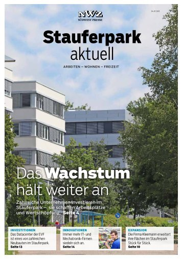 2018/27 Stauferpark Aktuell 2018 - E-Paper