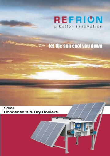 Solar Condensers & Dry Coolers