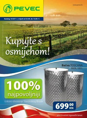 Katalog 10/2011. - Pevec