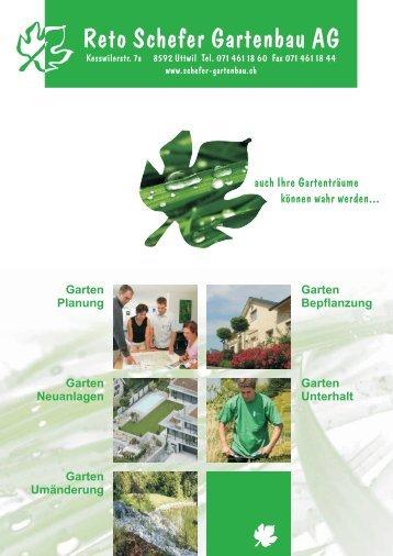 Reto Schefer Gartenbau AG
