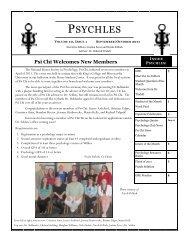 PSYCHLES - Wilkes University