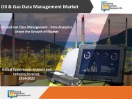 Oil and Gas Data Management - Data Analytics Drives the Growth of Market