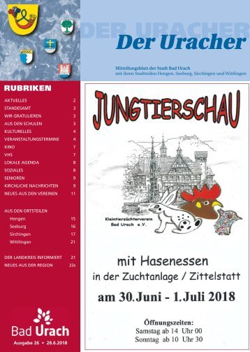 Der Uracher KW 26-2018