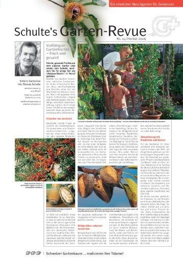 Schulte's Garten Revue - Schulte Gartenbau