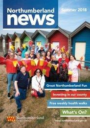 Northumberland News Summer 2018
